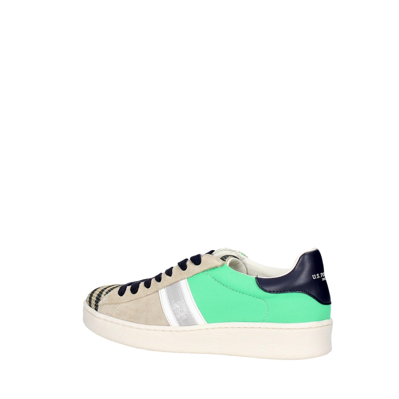 U.s Polo Assn Damen ERYN4077S7//TS1 Sneakers Frühjahr//Sommer Wildleder Textil