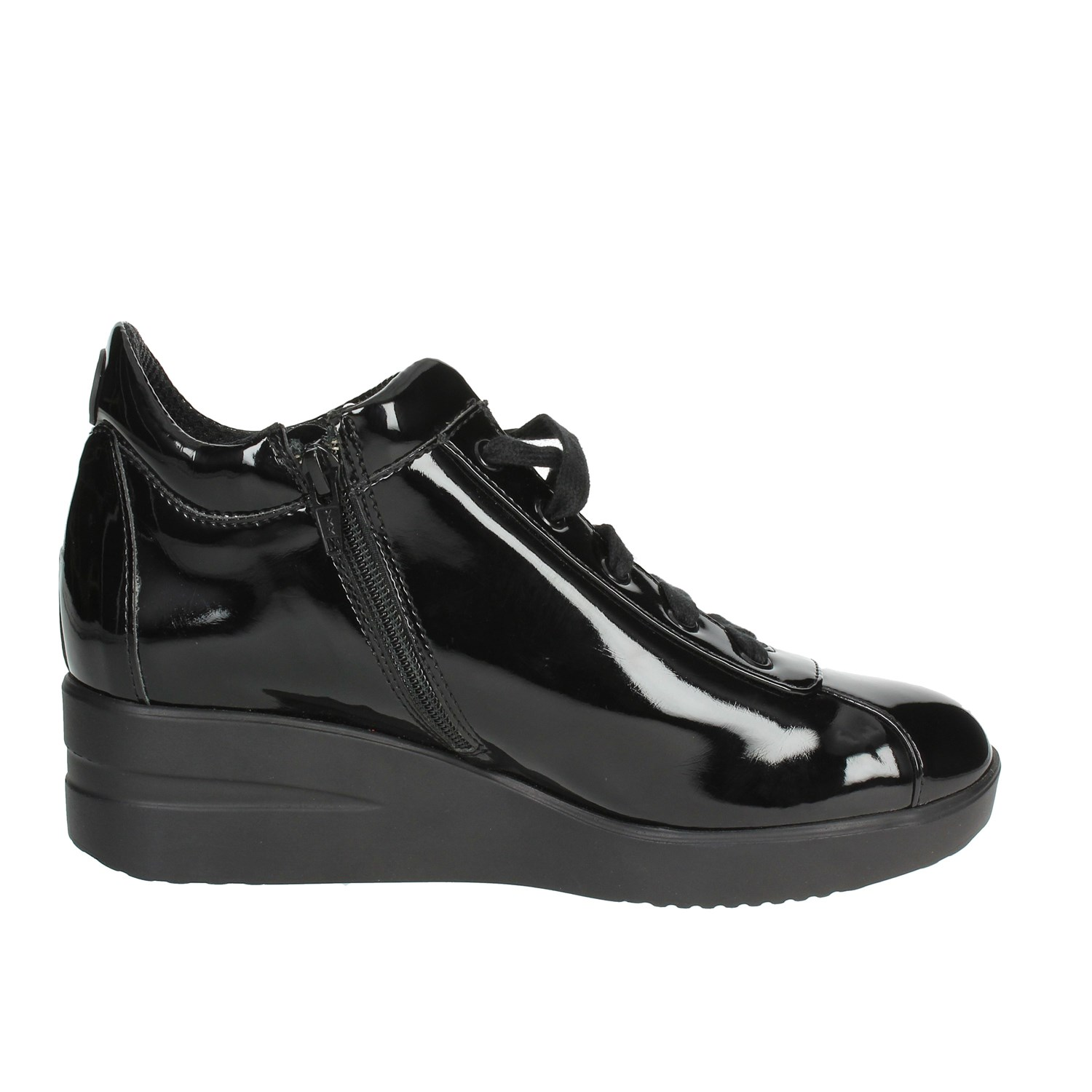 Agile By Rucoline  226-44 Black Low Sneakers Women Fall//Winter