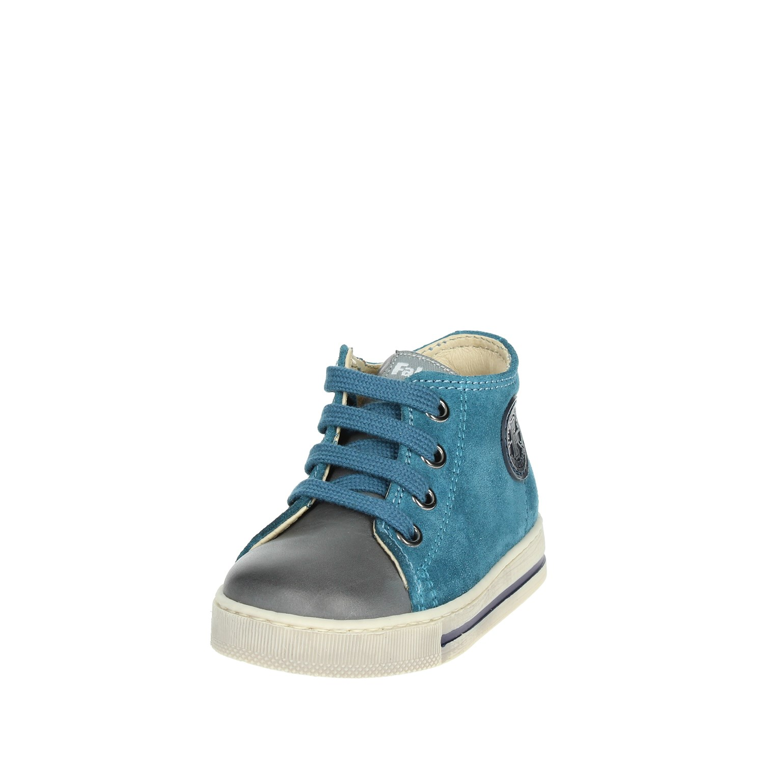 Falcotto 0012012808.01.1C15 Teal High Sneakers Boy Fall//Winter