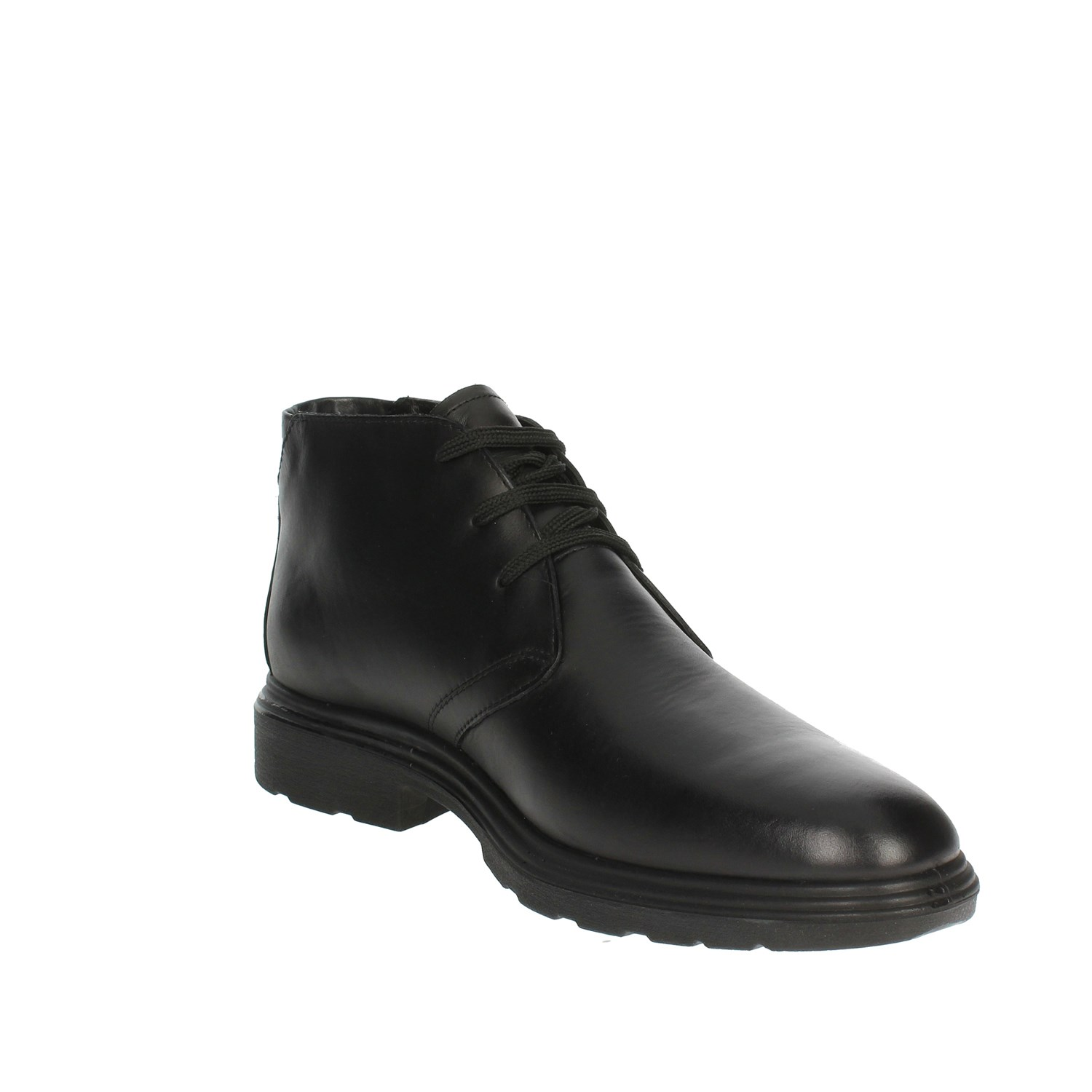 Pregunta IV2084-M 001 Black High-laced Boots Man Fall//Winter