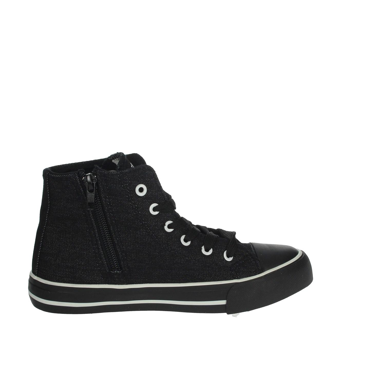 Juventus Bambino S19016 NERO Sneakers Primavera//Estate Tessuto