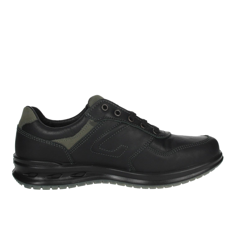 Grisport Mann 43027A Schwarz Sneakers Herbst//Winter Leder