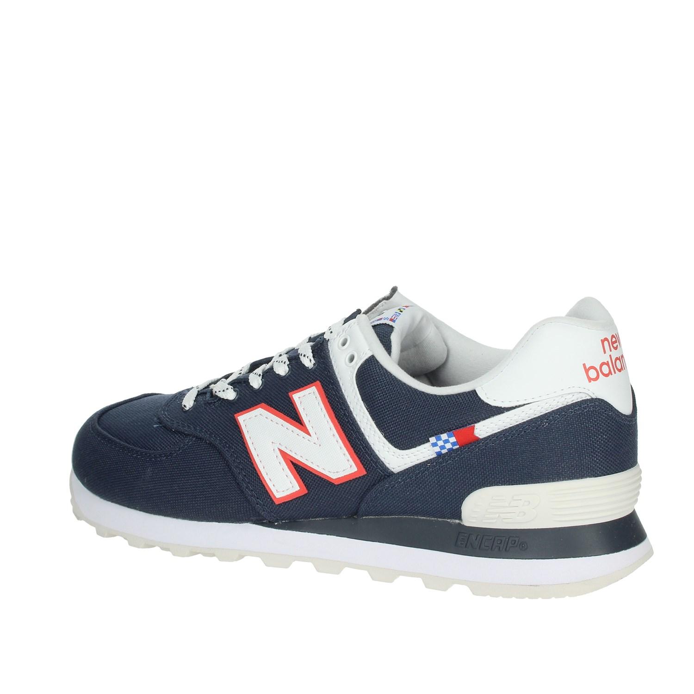 Men New Balance Uomo ML574SOP BLU Sneakers Primavera/Estate Nylon ...