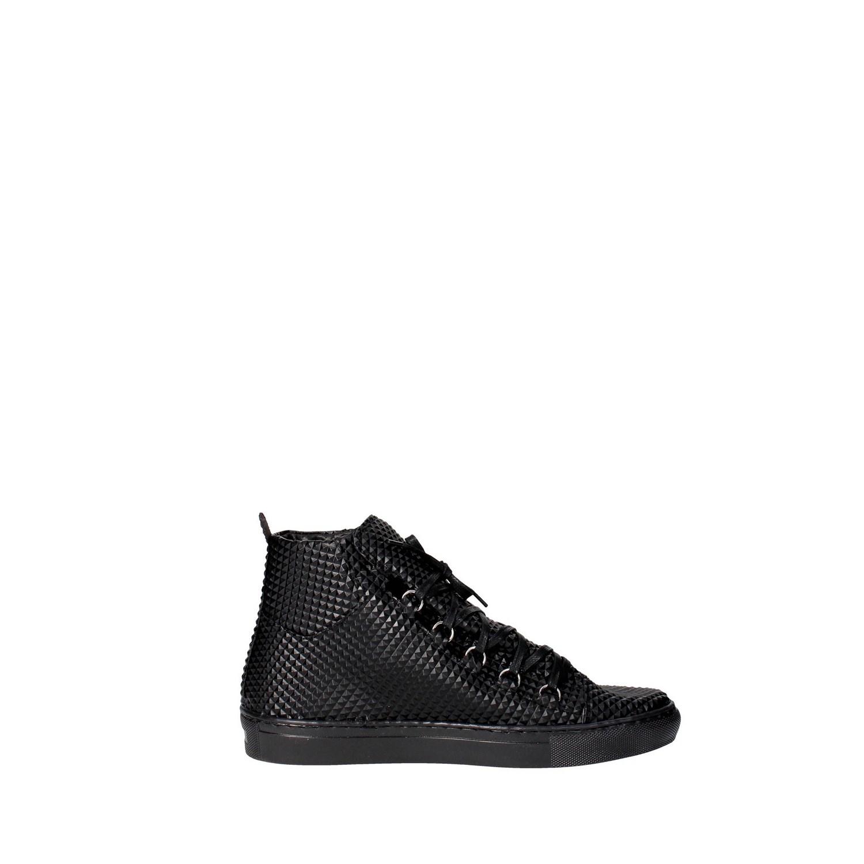 Uomo Esclusive Black High Inverno Autunno B2150 Sneakers wrHrgxq8I