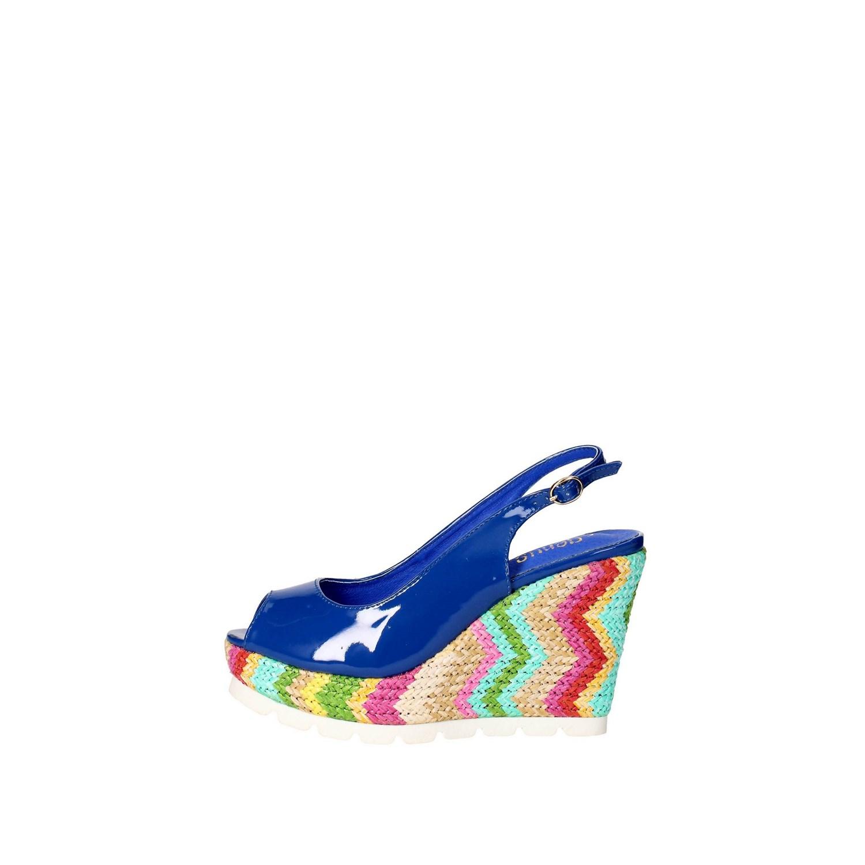 Sandali Genus Millennium Donna - BLU ELETTRICO - Vendita Sandali On line su  Shoespoint.biz 6136a744b49