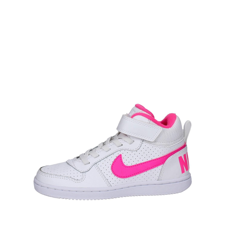 Sneakers Alta Bambina Nike 870031 100 Primavera/Estate