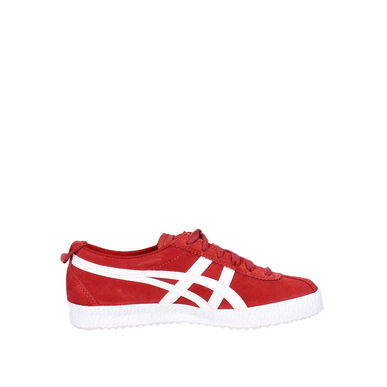 Tiger Rosso estate Donna Primavera Sneakers 2701 D639l Onitsuka Camoscio p1qgxTdp