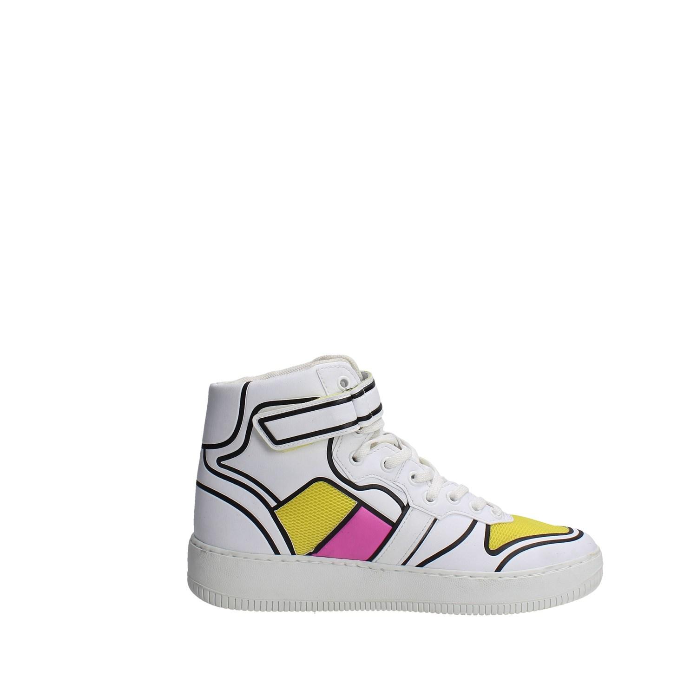 Bianco D e t Donna a estate Alta E17 Sneakers 22 Primavera wrXqrC7