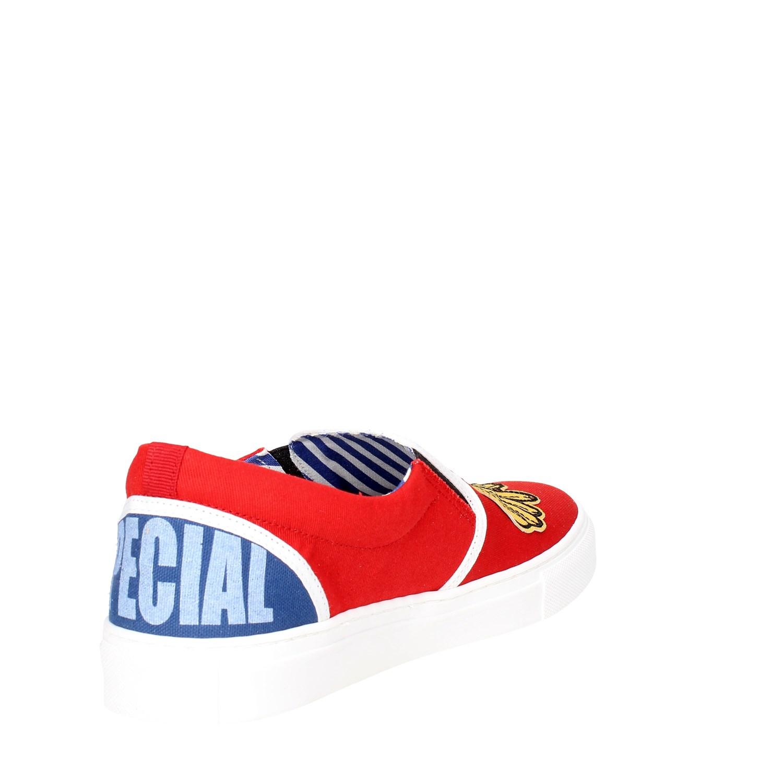 estate Primavera Slip Shoes c on Beat Generation Vs Man Red qpzPPw