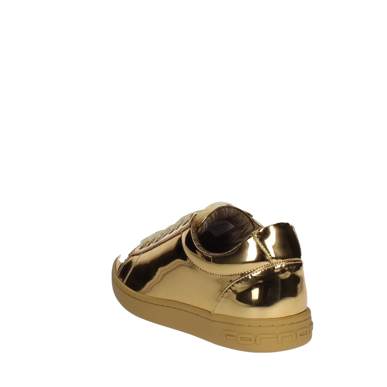 0962fe9724648 Fornarina PIFAN9607WPA9100 ORO Sneakers Bassa Donna Autunno Inverno ...