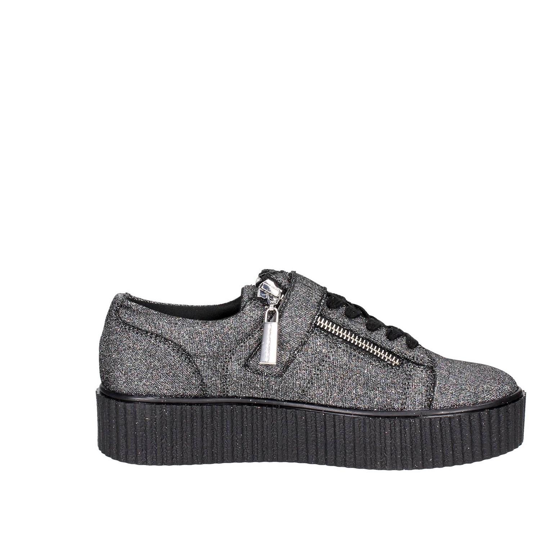 Fornarina PIFTI9572WJA0600 gris Bassa zapatillas Bassa gris mujer Autunno Inverno 4908d6