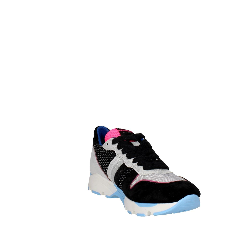 Serafini-PE16SAN15-GRIGIO-NERO-Sneakers-Bassa-Donna-Autunno-Inverno
