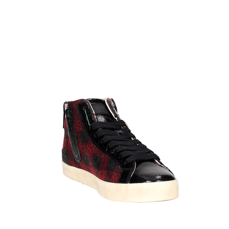 Donna e NEROBORDEAUX Autunno HILL Sneakers HIGH a Alta D t 37I qAzOA