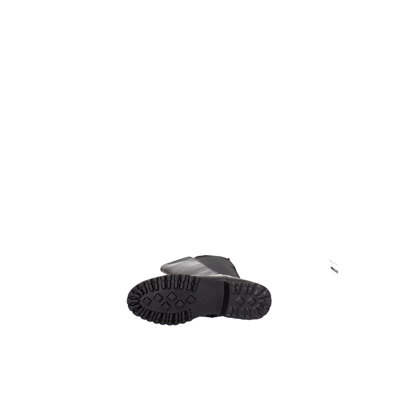 Dettagli su Cinzia Soft Donna IV7899 NL 001 NERO Stivali AutunnoInverno Pelle