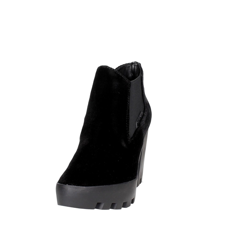 Calvin-Klein-Jeans-R0590-NERO-Stivaletti-Tacco-Donna-Autunno-Inverno