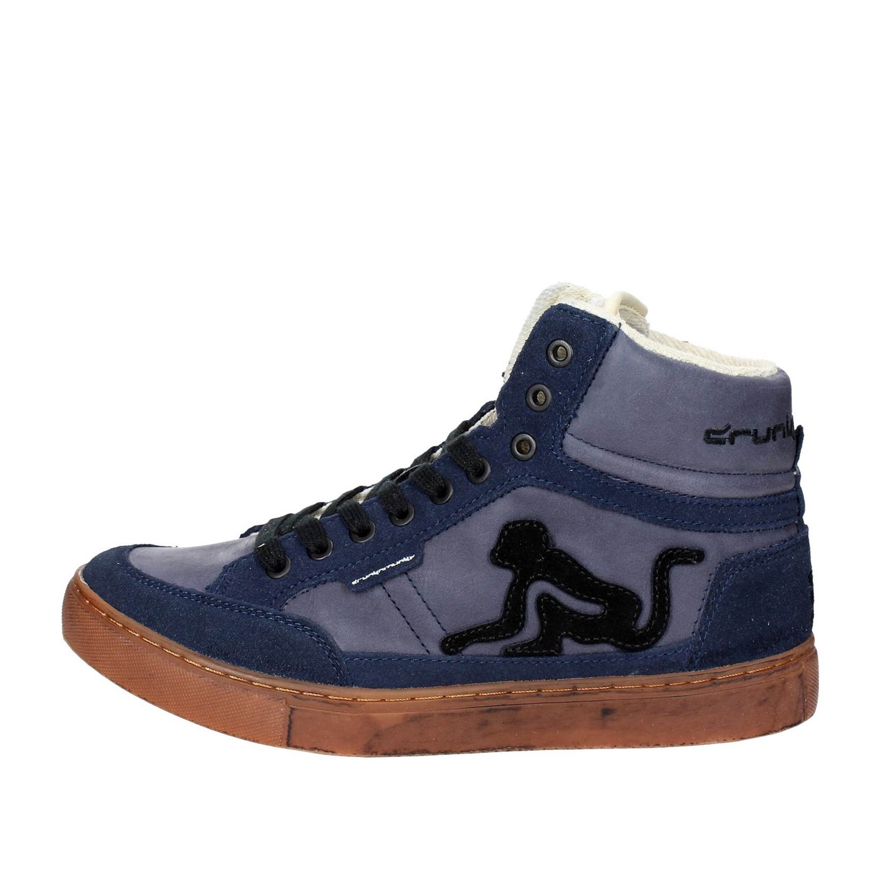 High SNEAKERS Man Drunknmunky Boston Vintage 027 Fall winter Blue 40 ... 435ba5b3569