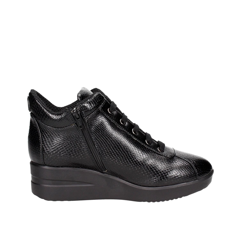 Agile By Rucoline Frau 226(17) Schwarz Sneakers Herbst/Winter