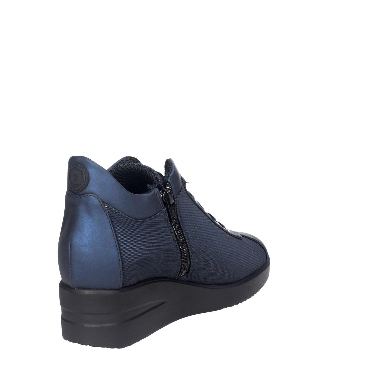 Agile by Rucoline 226 (26) blu basse scarpe da da da ginnastica da donna autunno inverno c7c7ce