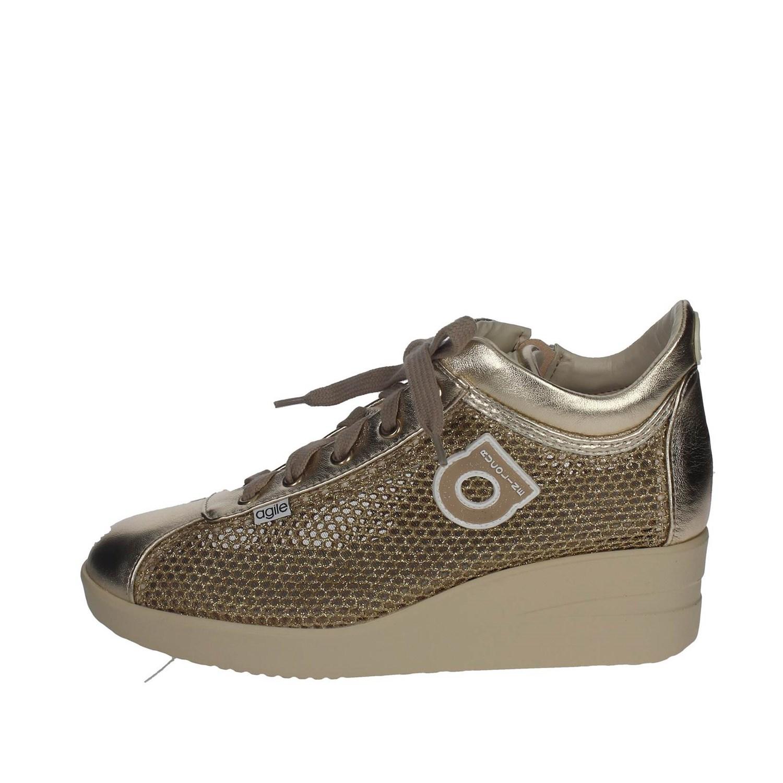 226 Rucoline Agile By Scarpe Donna Oro Sneaker Zeppa 40 Netlaminato E8Rwqdwf 71914c0af31