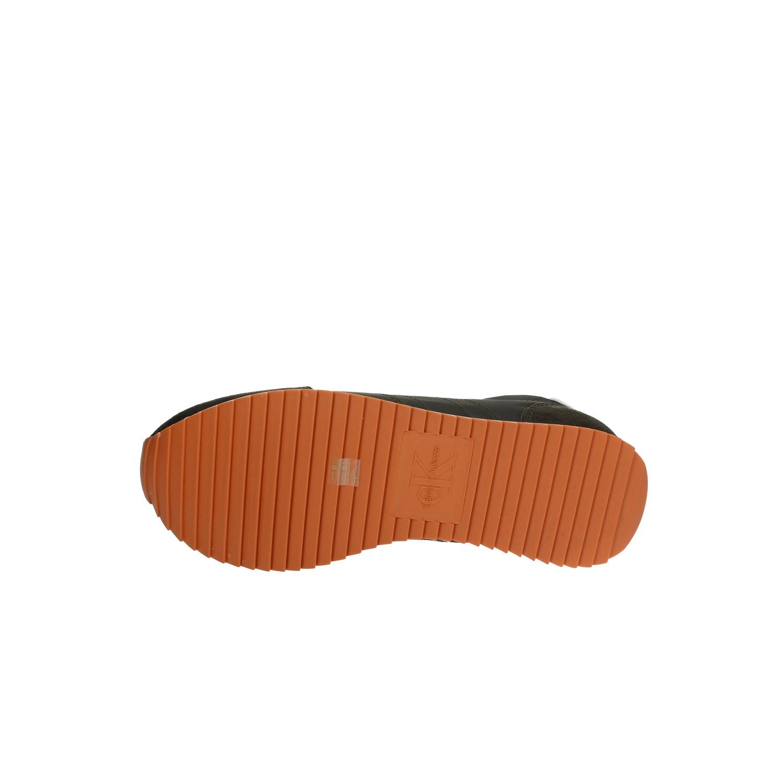 Dettagli su Calvin Klein Jeans Uomo S0536 Sneakers PrimaveraEstate Camoscionylon