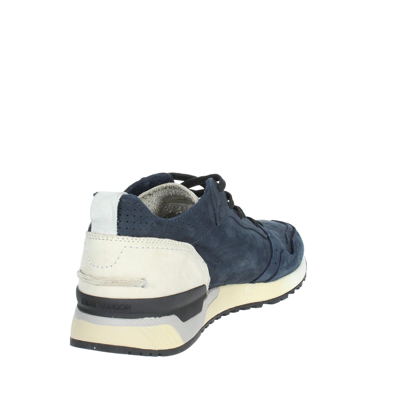 Primavera 11426ks1 Sneakers Uomo Blu Bassa 40 estate Crime London v8wn0mN