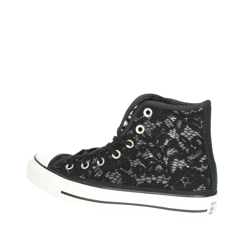PrimaveraestateEbay 561283c Sneakers Converse Alta Donna Nero wXZTliuPOk