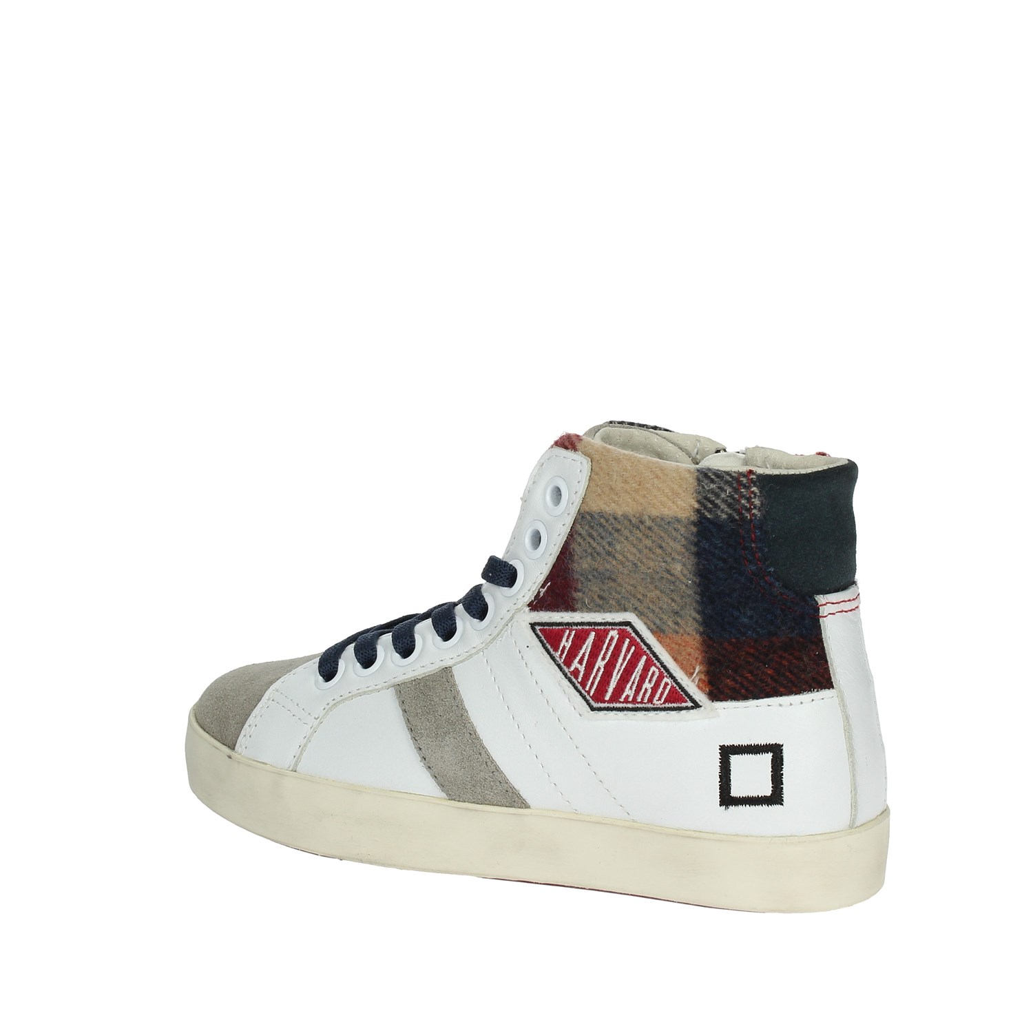 reputable site fef65 eb5aa Details about D.a.t.e. HILL HIGH 2-6B White High Sneakers Boy Fall/Winter