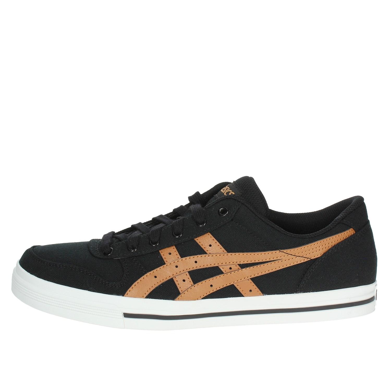 Nero 44.5 Asics Aaron Sneaker Uomo Black/Meerkat 9021 EU Scarpe 1sv