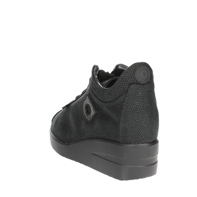 NERO Bassa Agile Sneakers By Rucoline 226 A24 qIZHa