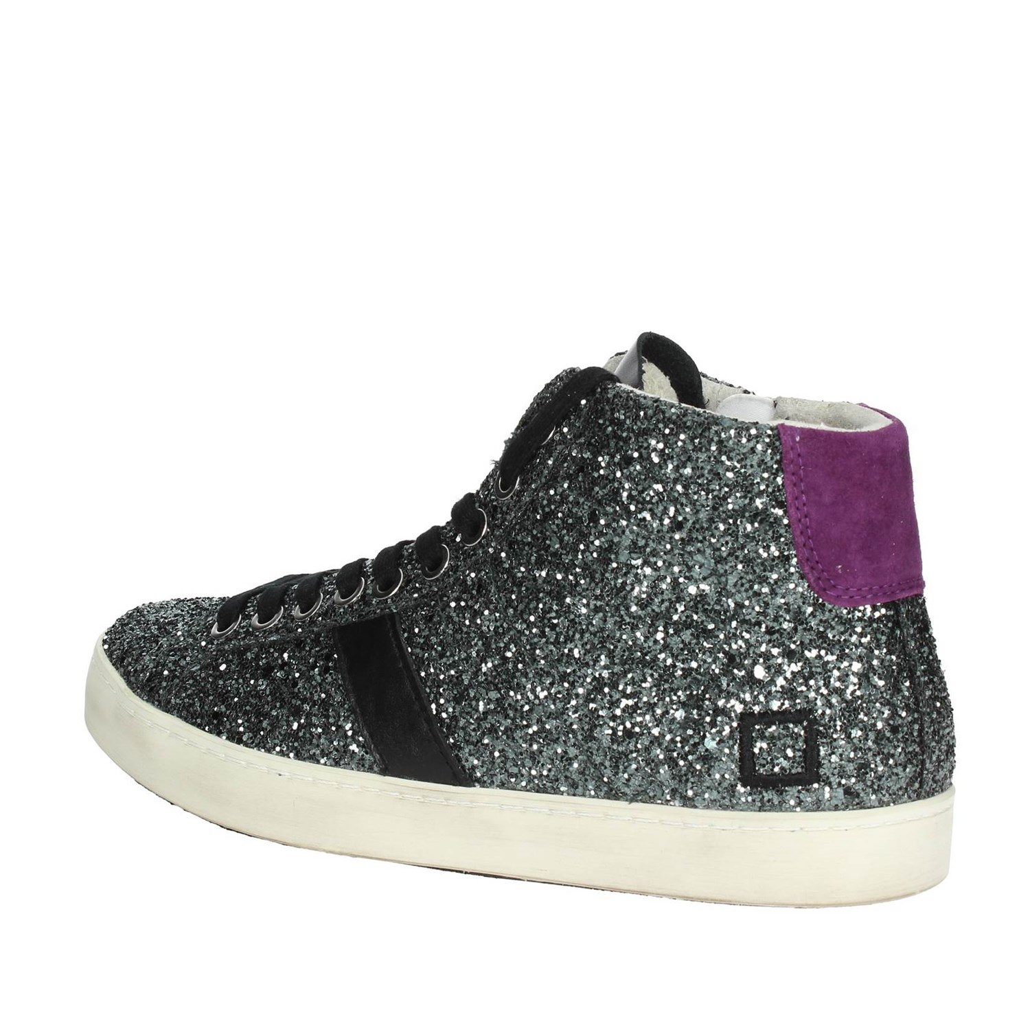 finest selection adcef 1d83d Details about D.a.t.e. HILL HIGH-5I Charcoal grey High Sneakers Women  Fall/Winter