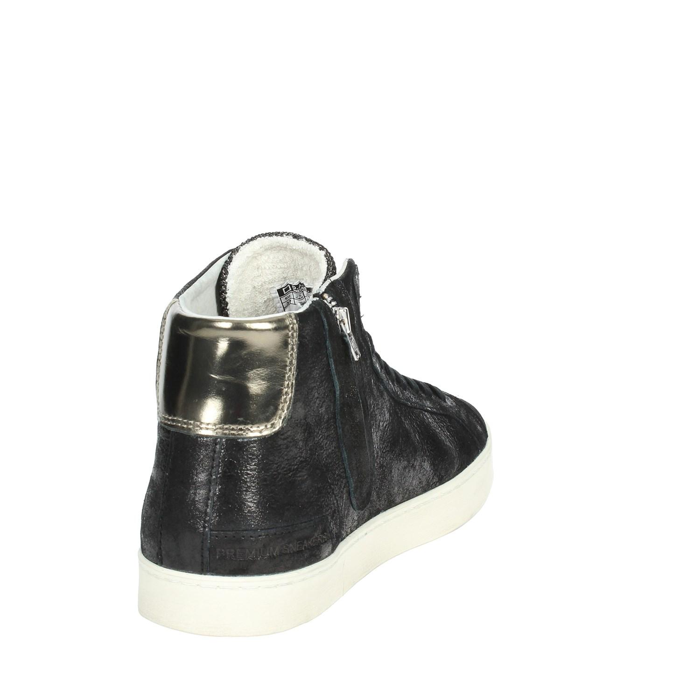 D.a.t.e. HILL HIGH-56I Alta negro zapatillas Alta HIGH-56I mujer Autunno Inverno fc3c70