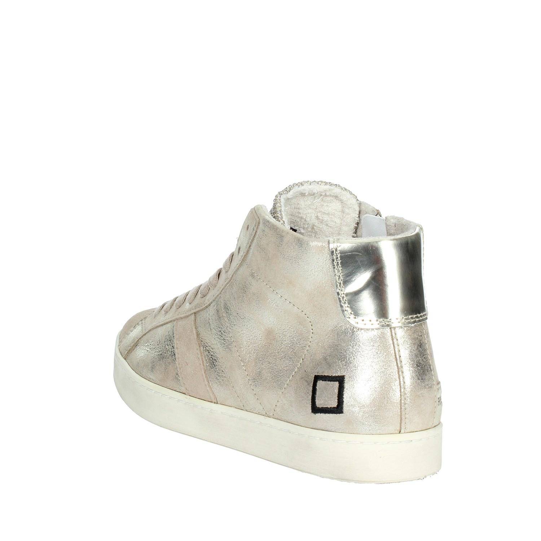 D.a.t.e. HILL Damenschuhe LOW-57I PLATINO Sneakers Alta Damenschuhe HILL Autunno/Inverno e46e7e