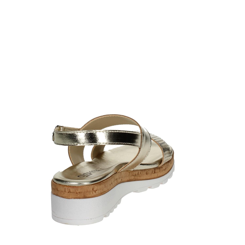 Soft Donna 811l 003 Cinzia Sandalo estate Primavera Oro Iaf2953 Owpqgag
