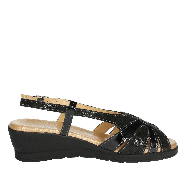 Cinzia Io567 003 Soft cv Printemps Sandale Noire Femme 6WwqUx