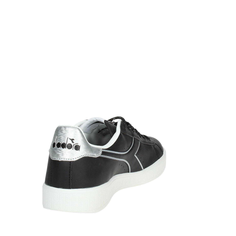 Donna C0787 inverno Bassa 101 Autunno argento 173097 Diadora Sneakers Nero Afw06Fnxq