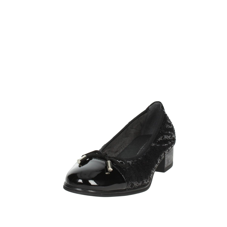 Pitillos Autunno 5381 negro Ballerina mujer Autunno Pitillos Inverno 800a59