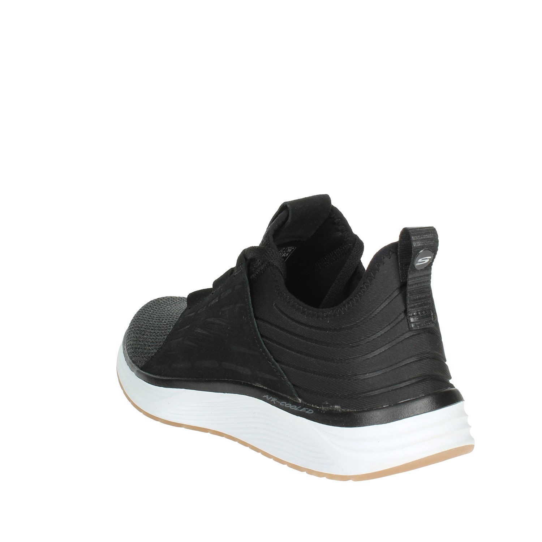 Sneakers 52967 Nero Autunno Uomo Skechers inverno blk Bassa xS74nt