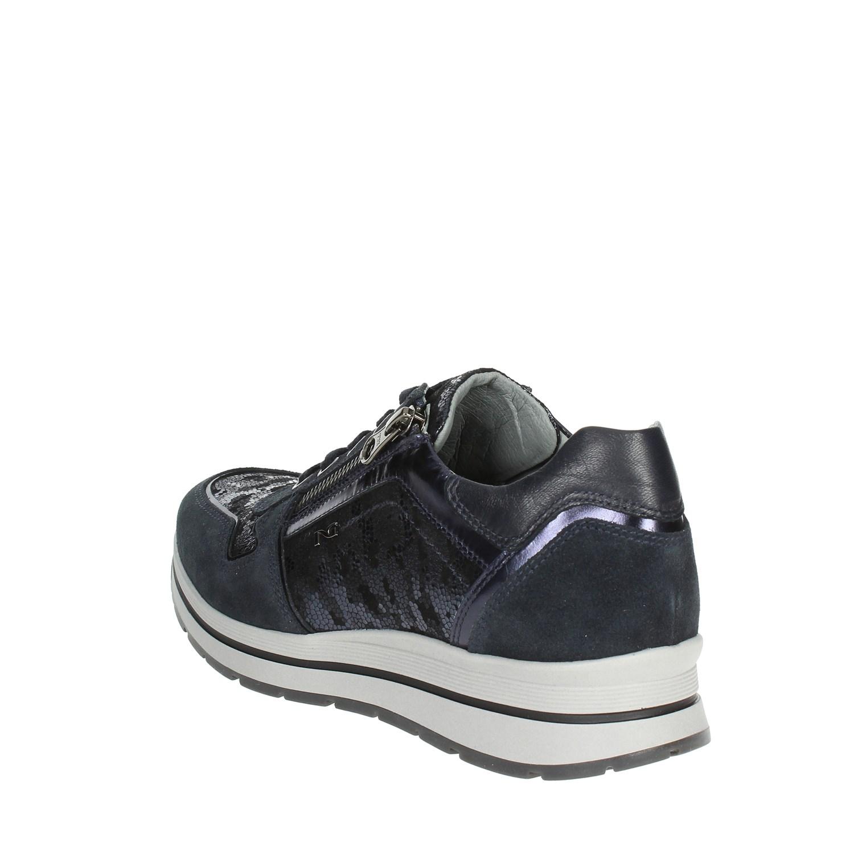 inverno Donna Sneakers 200 Nero Autunno Bassa Blu A806412d Giardini xTAnwqfP