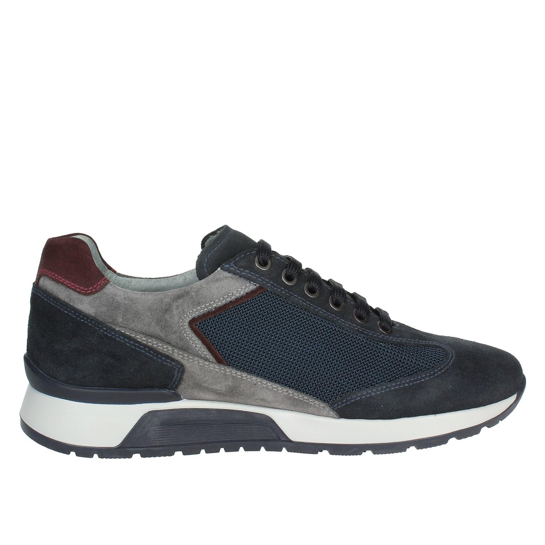 inverno Uomo Bassa 200 Sneakers Autunno Blu Giardini A800468u Nero 8OqTpT