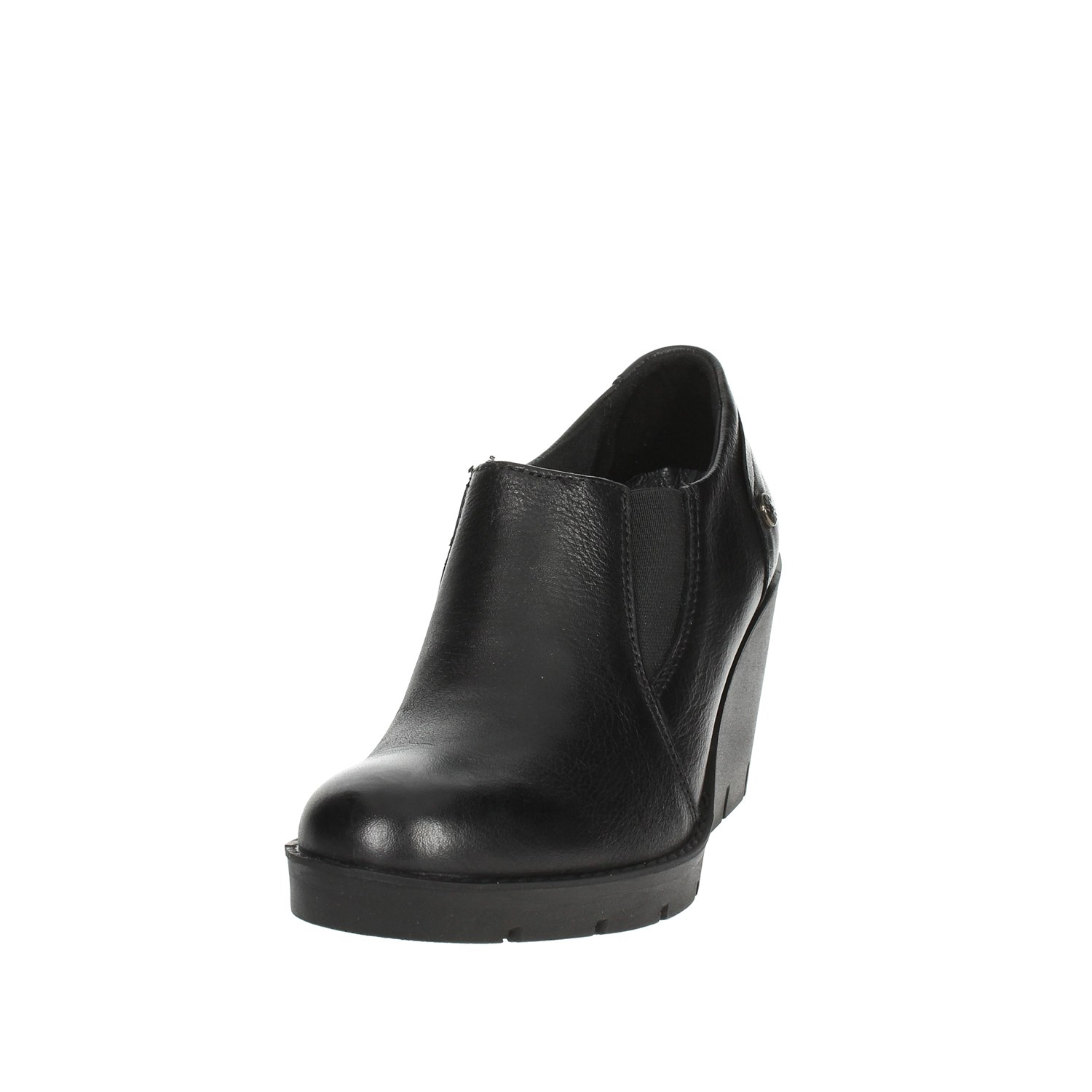 Imac 205410 Black Black Black Ankle Boots With Wedge Heels Women Fall Winter f41d4e