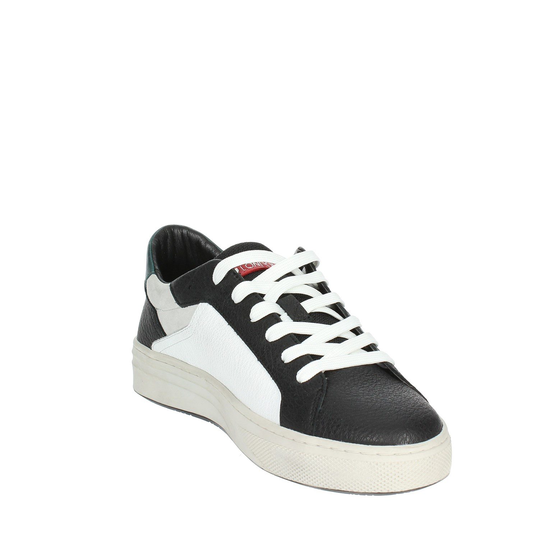 Crime    11601AA1.10 11601AA1.10 11601AA1.10 BIANCO/NERO Sneakers Bassa Uomo Autunno/Inverno bacdb1