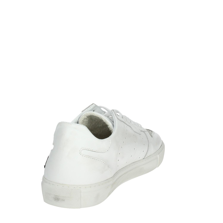 D.A.T.E. I18-8 Bianco Bianco Bianco Basso Scarpe Da Ginnastica Uomo Autunno/Inverno be45d8
