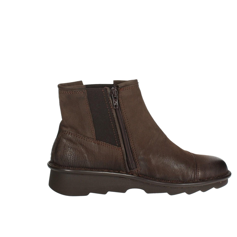 Stivaletto Autunno Donna 010 inverno Mezzo Shoe Marrone Relax 377 Xw4qZZ