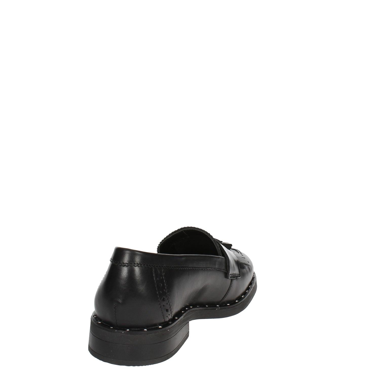Cinzia Soft IV9796-LS 001 negro Mocassino Mocassino Mocassino mujer Autunno Inverno e8d9be