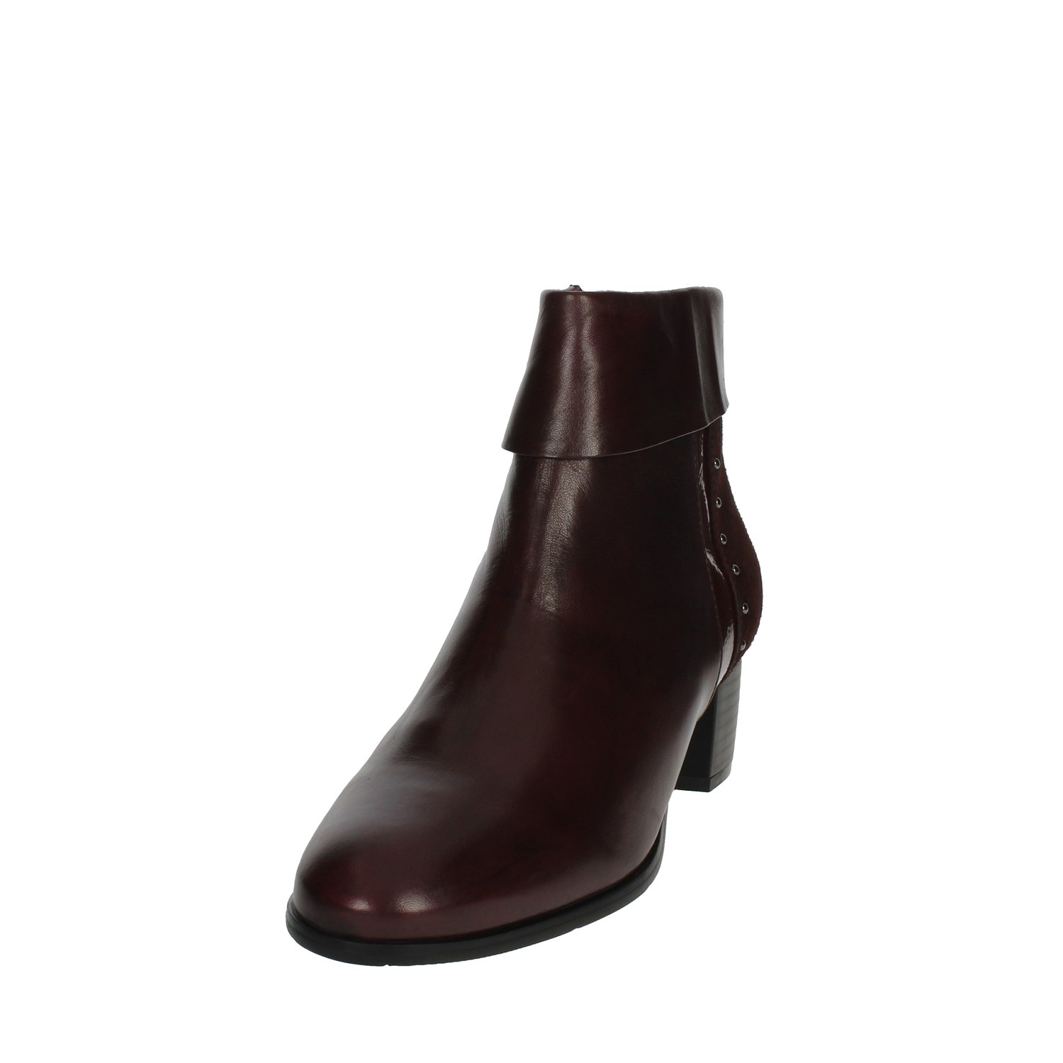 Cinzia Soft ICB105 002 Burgundy Ankle Boots With Heels Heels Heels Women Fall Winter 23acbe