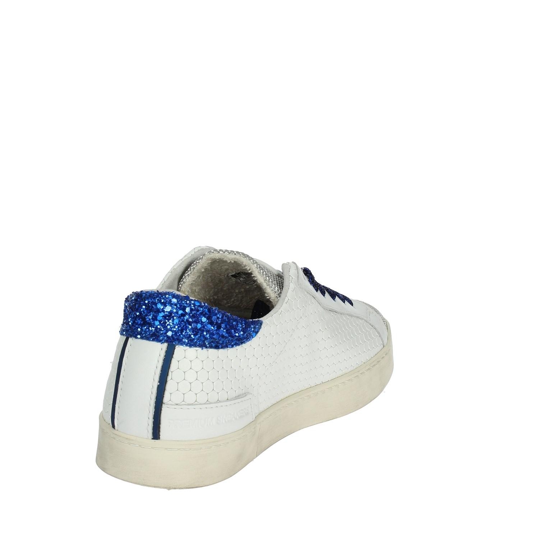 D Bassa 23 Bianco t Donna Low Hill a Sneakers e Primavera estate rTwpr8