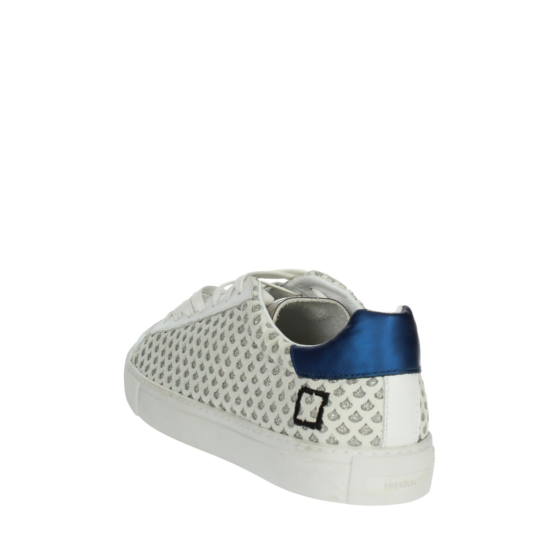 Bianco Sneakers a blu e Primavera estate t E19 Donna D Bassa 49 dX0U6Ux
