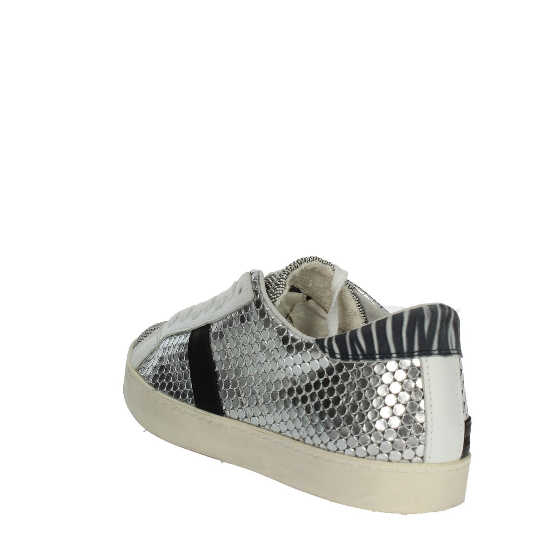 D Donna E19 Bassa e estate Sneakers a Primavera 31 t Argento qrqPwH1
