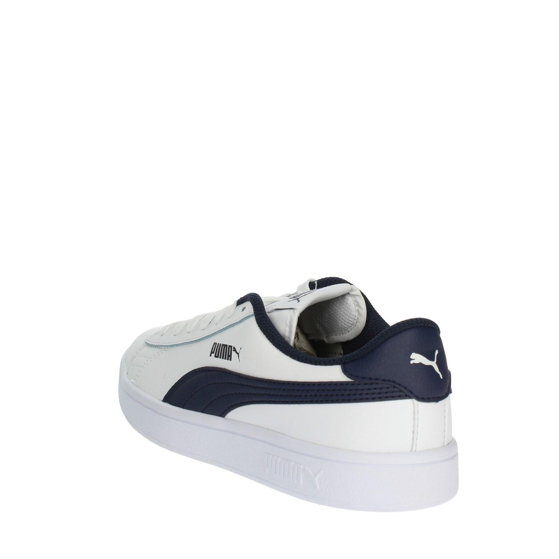 Scarpe V2 Shoes Leather Smash Bianco Blu Puma Ragazzo Sneakers 5wZqXWv b655e1128c6