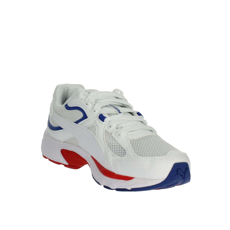 Puma Uomo 370287 02 BIANCO Sneakers PrimaveraEstate Pelle